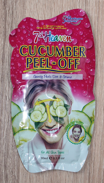 IMG 1968 - Vrijdag Maskerdag: 7th Heaven Cucumber Peel-Off
