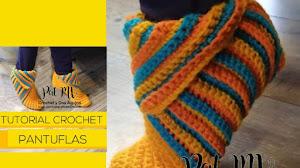 Cómo tejer pantuflas super fáciles a crochet | Tutorial en español