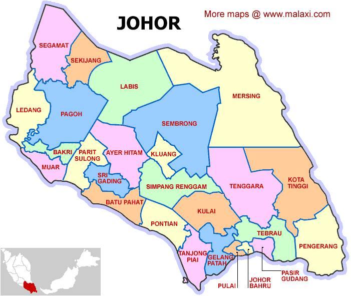 Latar Belakang Negeri Johor