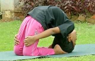 Yoga poses, Laghu-Vajrasana| VallamaiKol | Good Morning Tamizha 11-02-2017 Puthuyugam Tv