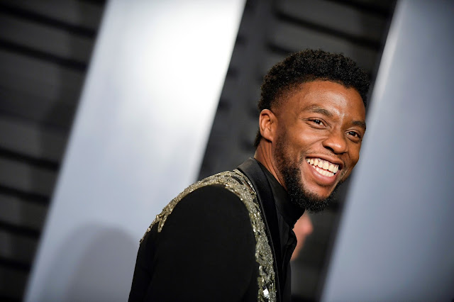 The actor Chadwick Boseman in 2018.Credit...Axel Koester for The New York Times