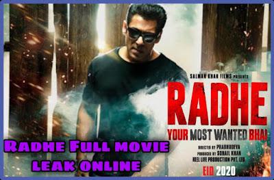 Radhe Full Movie Download Filmyzilla 480p hd qaulity Leaked By Filmywap