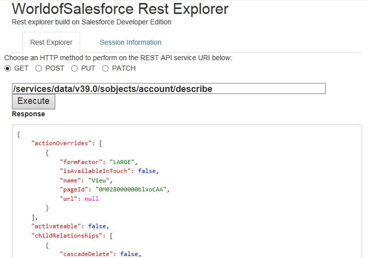 Salesforce Rest API with Example - World Of Salesforce