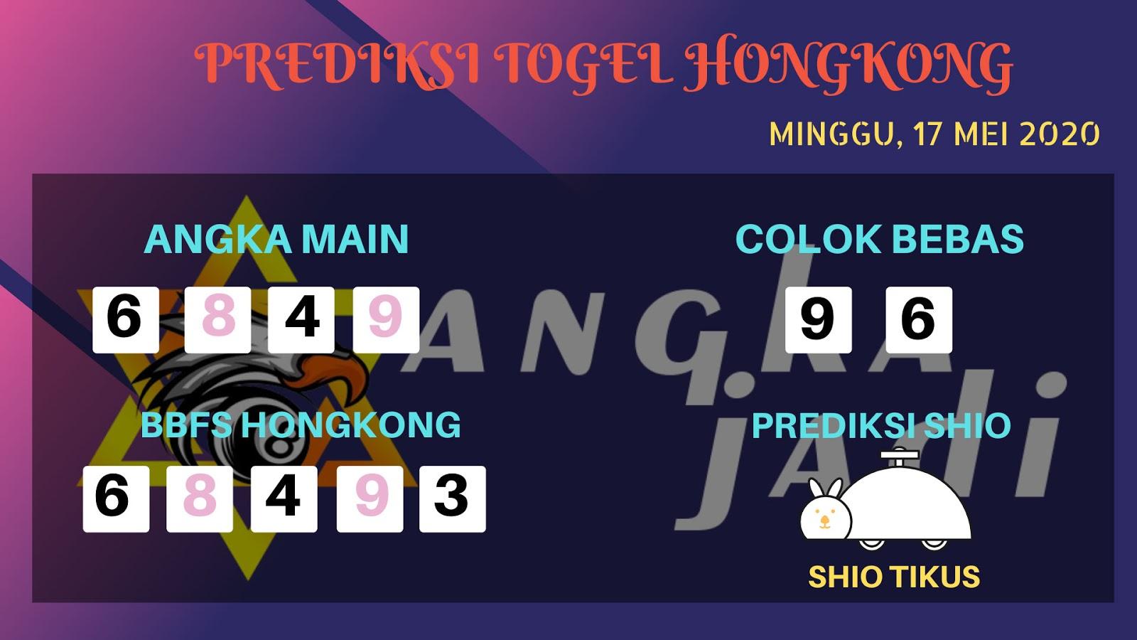 Prediksi Togel Hongkong Minggu 17 Mei 2020 - Bocoran Hongkong
