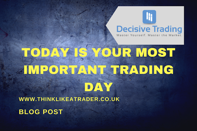 Today is Your Most Important Trading Day