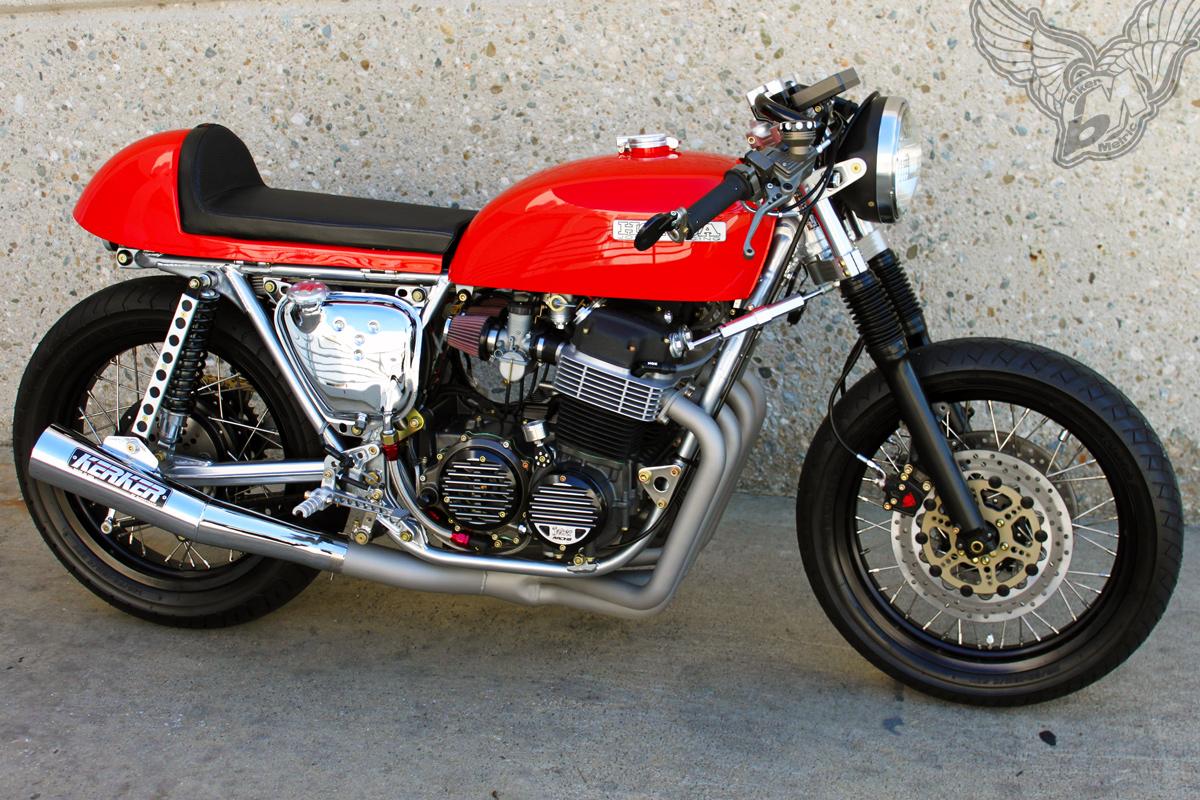 honda cb750 cafe racer | joker machine - bikermetric