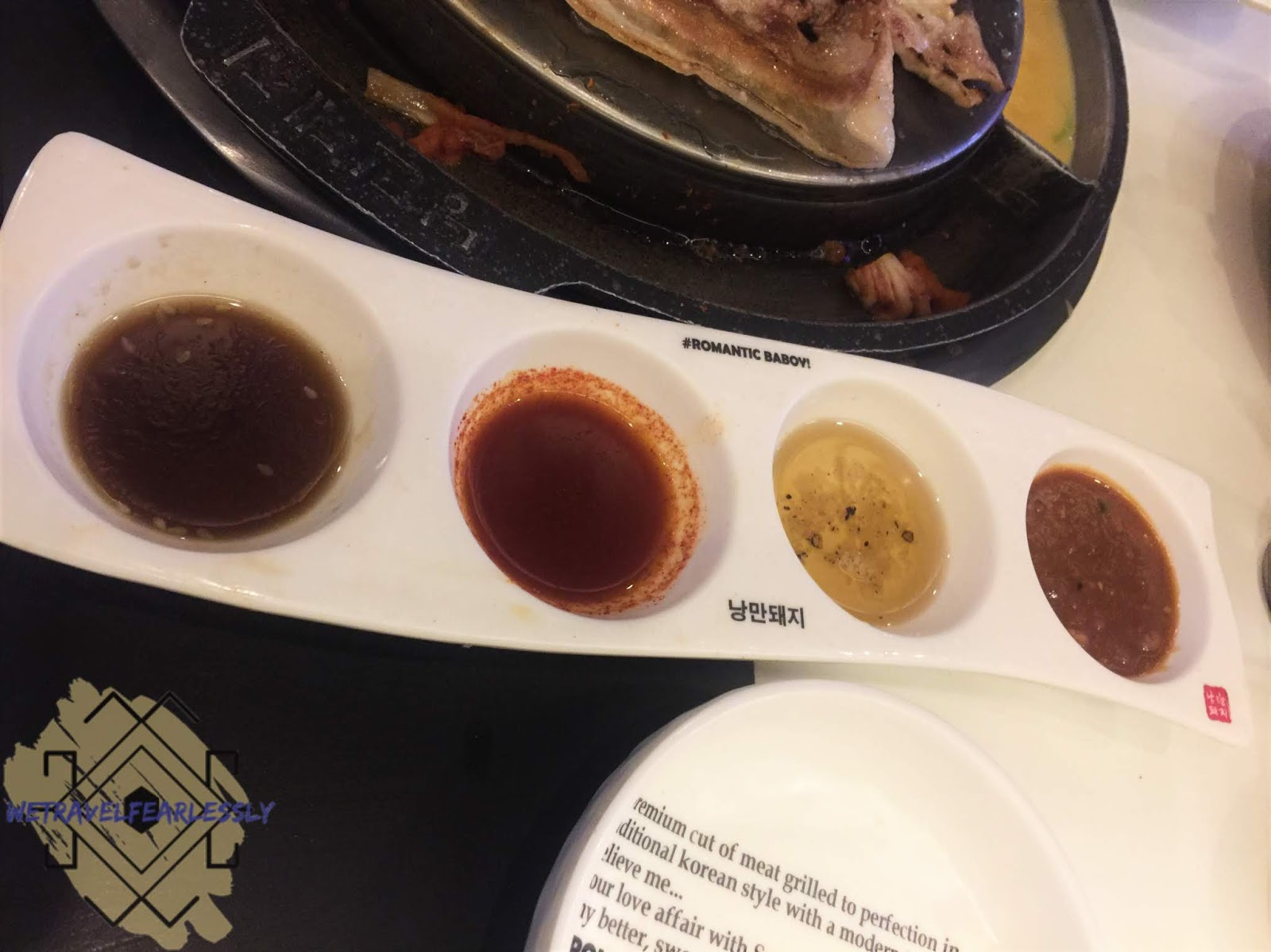 Sauces in Romantic Baboy in E. Rodriguez Jr. Avenue, Libis - WTF Review
