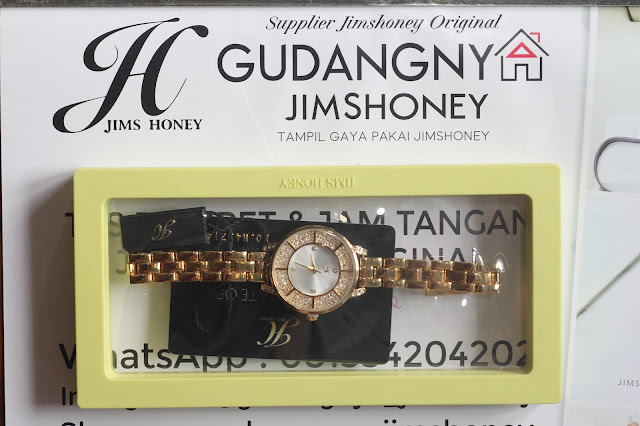 Real Pict Jam Tangan Jims Honey Timepiece 8480