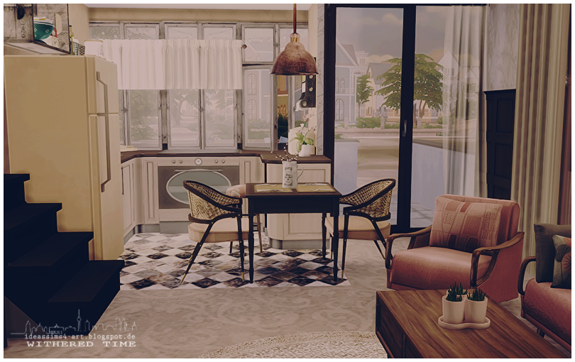 My Sims 4 Blog: Withered Time House By Ideas Sims 4 Art