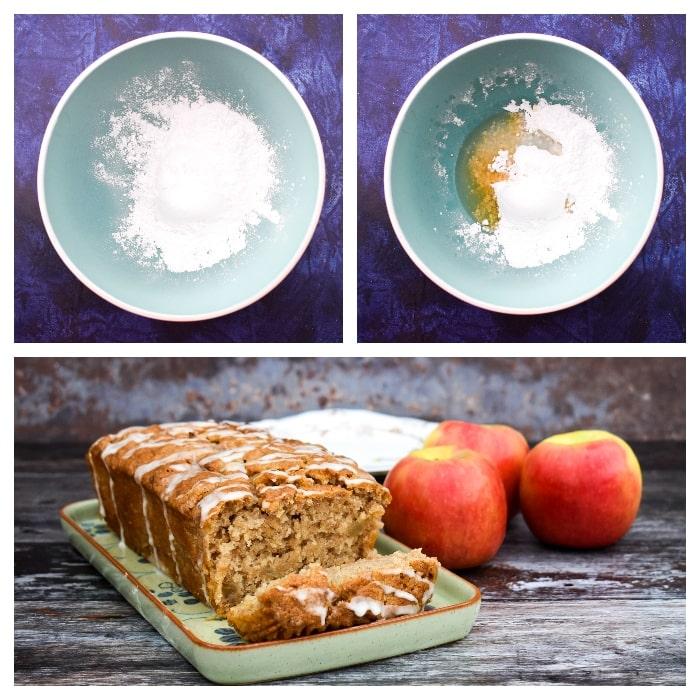 Apple cake - Step 5 - Bake the cake
