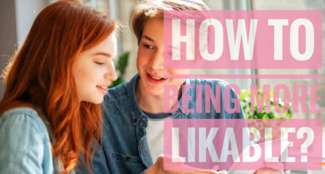 Being More Likable Your interactions will be influenced by your comfort levels, your specific conversation skills, and your broader personality. One trait that affects how much people enjoy your company is how likable you are.   People know this and often ask how they can be more likable. The term seems vague, but this chapter lays out some well-known traits of likable people.   But first, some disclaimers to keep in mind as you work on your likability:  A big factor in how people feel about each other is their compatibility. We typically like those who are similar to us. Even if you're warm and pleasant, someone may not like you if you have completely opposing views on the world. The traits covered below will affect your likability in addition to, or in spite of, how well matched you are to someone otherwise.  The traits below will help you become more likable on average, but you can't reliably use any one of them to guarantee a specific individual will like you. As always, each person has their own tastes, and you can't win them all over.  As a whole, the list may seem like a bunch of bare-minimum requirements to be a pleasant person, not someone outstandingly likable. Likable people don't operate using a set of secret techniques. They just do more of the things below and at a higher level.  The traits below are pretty general. That means you can express them in a way that blends into your overall style and personality.  There are many ways to be appealing. For every point listed, there are many people who don't have that trait who are still likable because they make up for it in other ways.  Unless you have an especially off-putting personality, you're probably already likable to some people. You don't need to be in the top 1 percent of any of the points below to be liked; just being decent enough at them helps your interactions. Two ways to be more likable before anyone has even talked to you  People start to form an impression of your likability before you've e