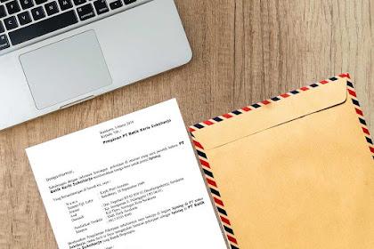 7+ Contoh Surat Lamaran Kerja Di Pabrik Yang Menarik dan Lengkap