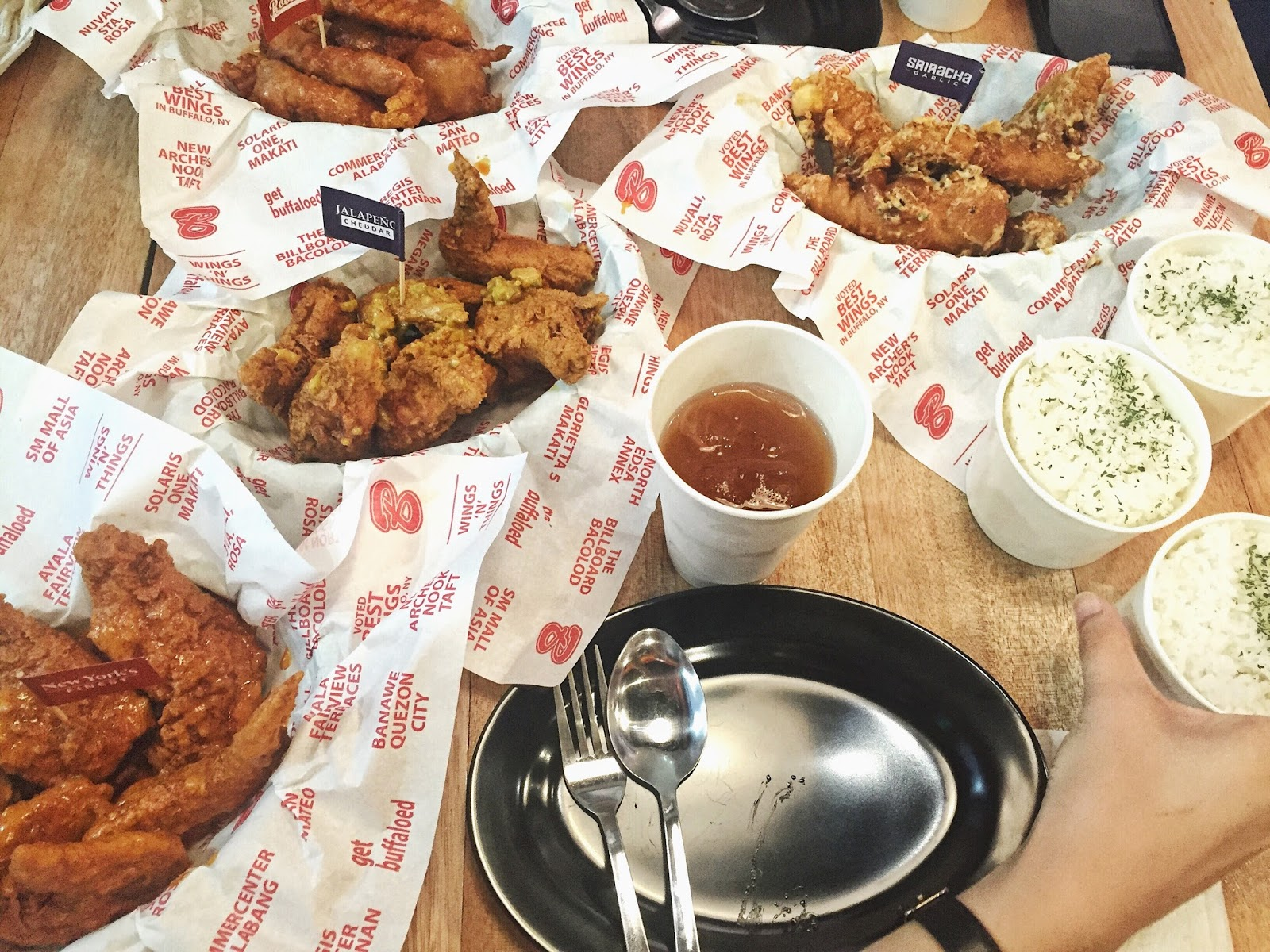 Buffalo's Wings N' Things SM City San Pablo Feast For Champions