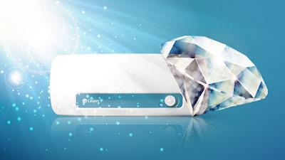 Bình chứa tráng men có thành phần kim cương giúp tăng tuổi thọ bình chứa