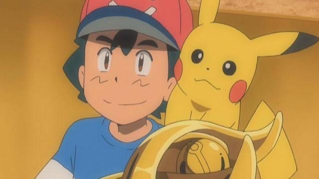 Ash Ketchum venceu uma Liga Pokémon!