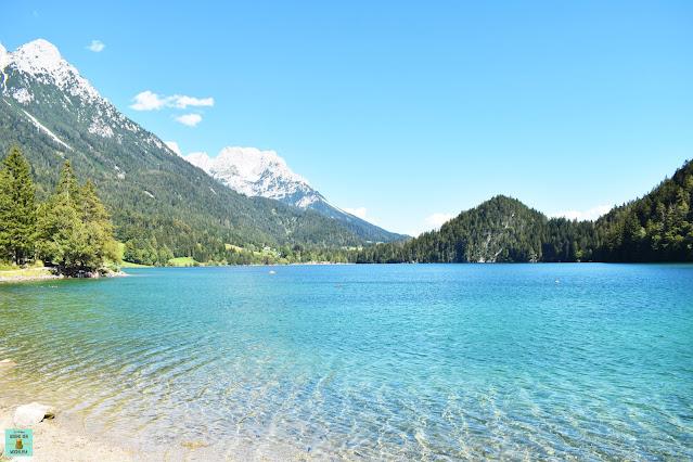 Lago Hintersteinsee en Austria