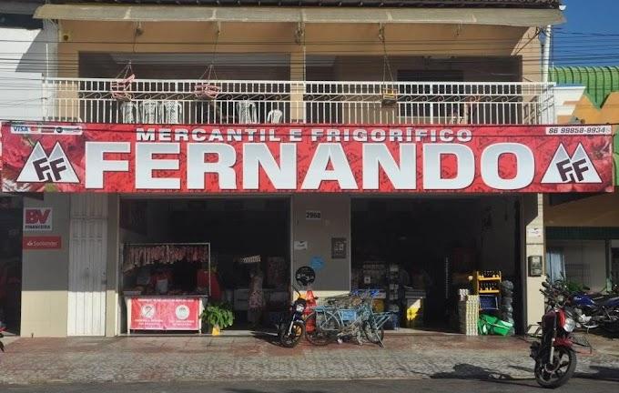 Mercantil e Frigorífico Fernando em Parnaíba