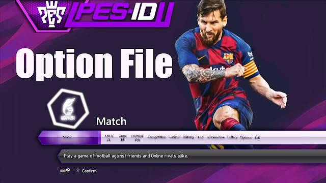 PES 2013 Option File PES-ID UI Patch 2013 V9 0 By chako