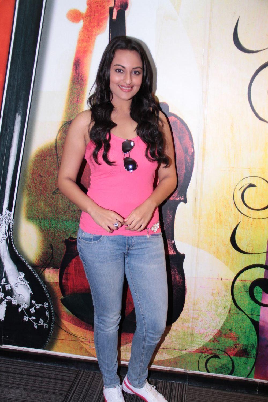 Sonakshi Sinha at Radio City FM Studios Promoting Movie JOKER