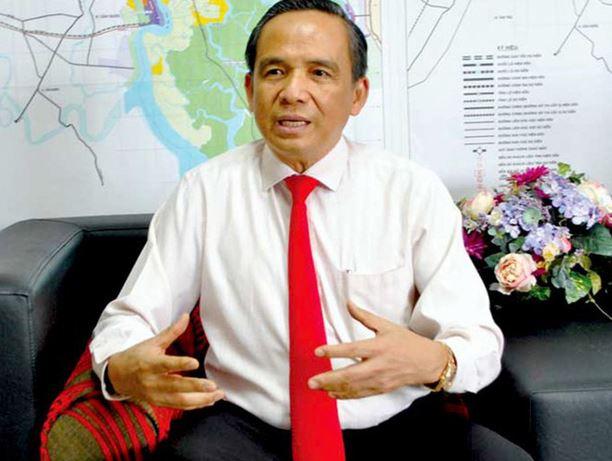 Ông Lê Hoàng Châu, Chủ tịch Hiệp hội BĐS Tp.HCM (HoREA