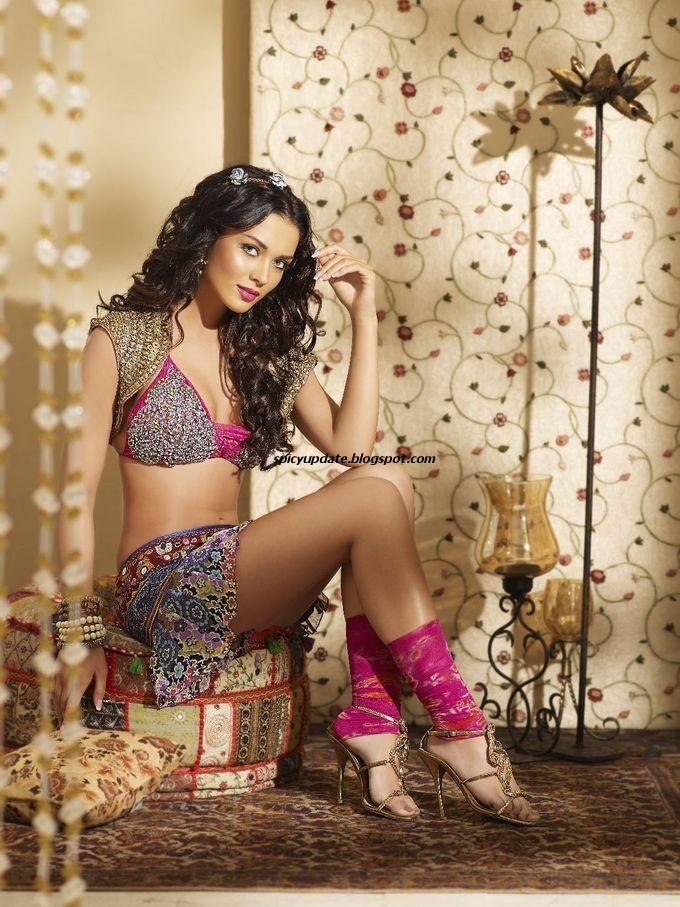 Spicy Actress Photoshoot for Venkat Ram 2012 Calendar