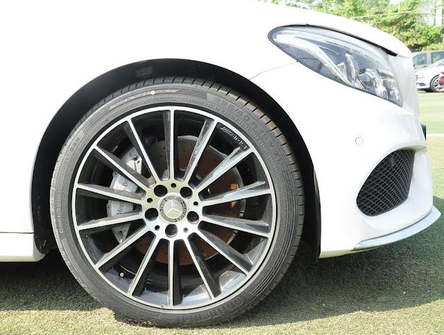 Bộ mâm bánh xe Mercedes C300 Coupe kích thước 18 Inch, thiết kế AMG