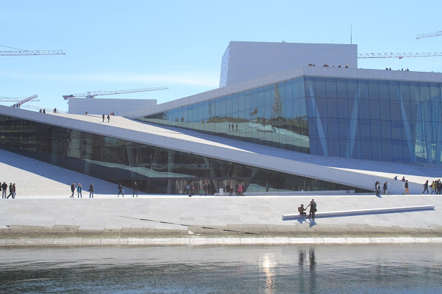Oslo opera house - Architecture