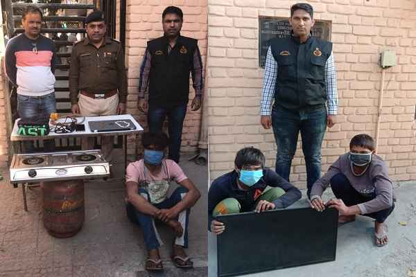 faridabad-crime-branch-uncha-gaon-arrested-two-chor-news