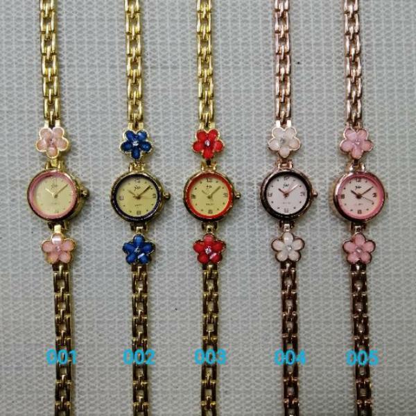 Jam Tangan Wanita Rantai Mini SALE  J-061