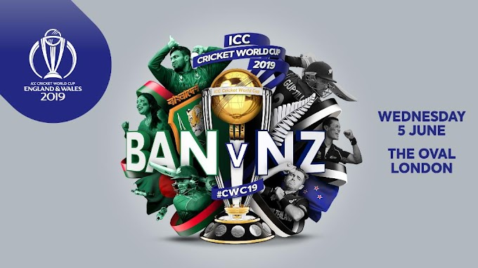 New Zealand vs Bangladesh Worldcup 2019 Scorecard Match 9