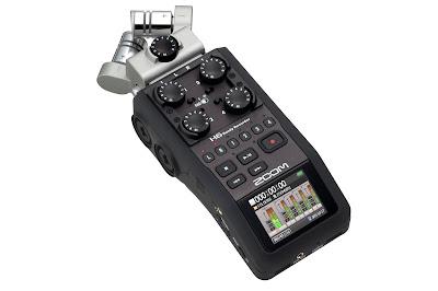 Ljudinspelare Zoom H6