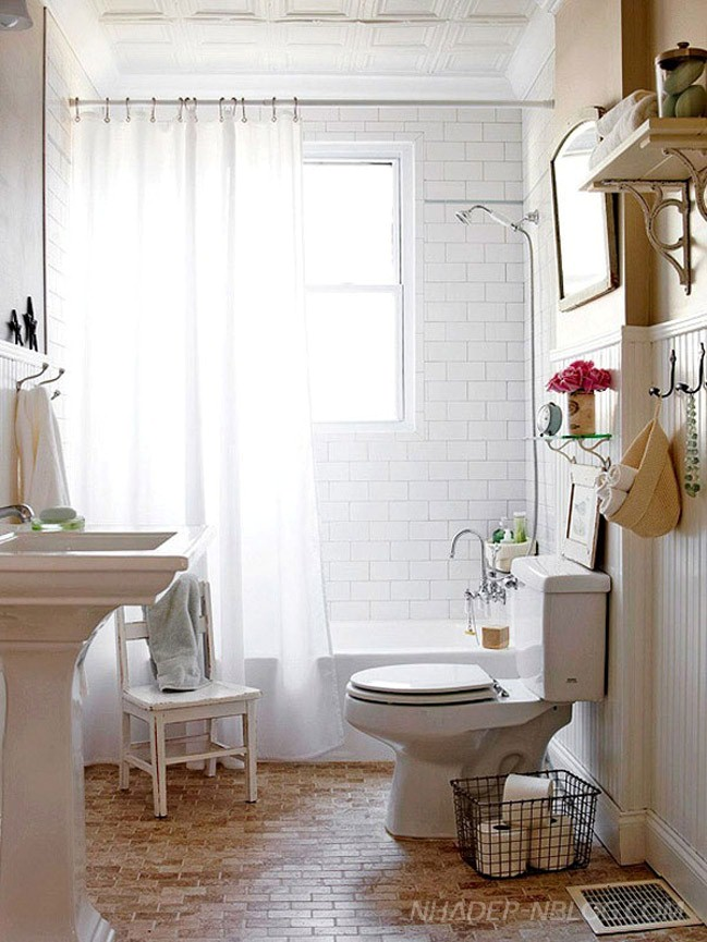 30 Beautifully designed bathroom interior with small space