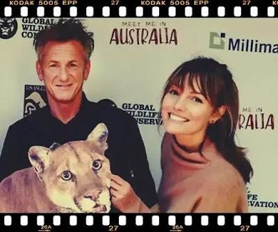 Sean Penn si Leila George nunta de vedete in pandemia de covid