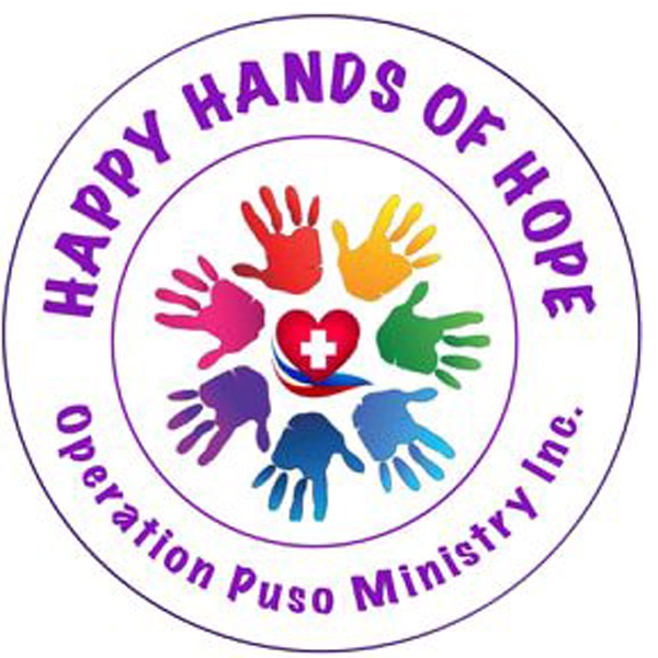 Happy Hands of Hope, foundation for kids, underprivileged kids, congenital heart disease, Transcatheter Closure of Patent Ductus Arteriosus, The Medical City Iloilo, Iloilo City, Bacolod City, pediatric cardiologists, Bacolod pediatric cardiologists, Happy Hands of Hope Operation Puso Ministry Inc, heart problems, heart problem in kids, Dr. Judah Gozar, Pediatric Interventional Cardiologist, Bacolod Pediatric Interventional Cardiologist, Retinitis Pigmentosa, Bukas Loob sa Diyos, Solo Parents Encounter, Life in the Spirit Seminar, Jennefer Saril Bautista, The Little Green Apples Project, Home of Hope, Bacolod orphanage, orphanage, kids, children, ministry, Happy Hands of Hope logo