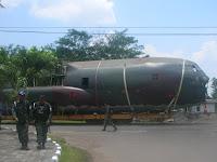 Pesawat C-130 Hercules A-1301 Dimuseumkan