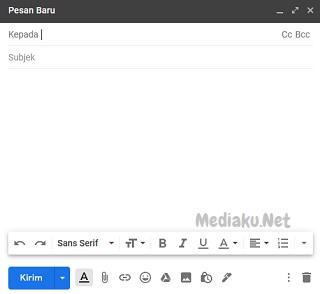 Cara Membuat Pesan Baru Di Gmail