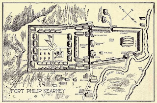 map of fort phil kearny wyoming