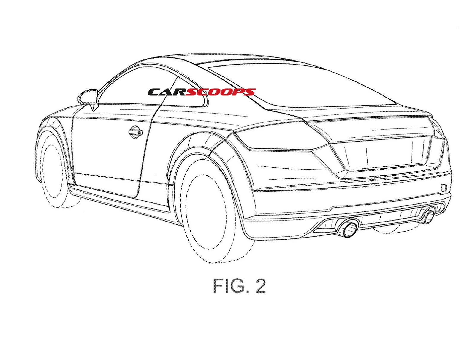 Audi Patents Show New Tt Rs Performance Coupe