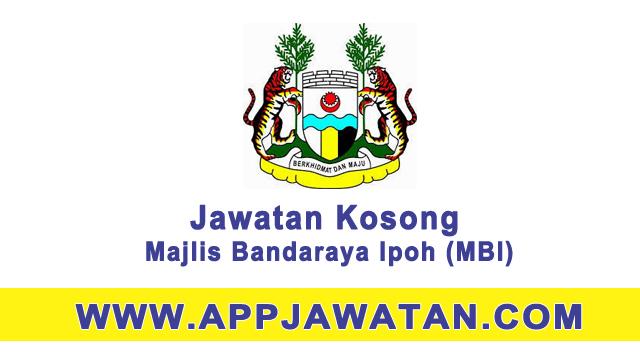 Jawatan Kosong Kerajaan di Majlis Bandaraya Ipoh (MBI)