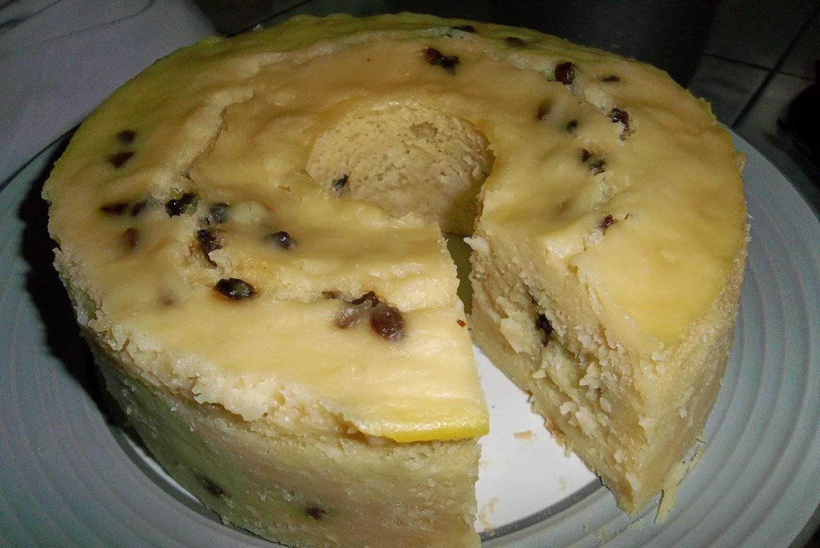 Resep Cake Tape Keju Special