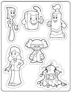 50 atividades sobre higiene e hábitos saudáveis para