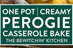 ONE POT PEROGIE CASSEROLE BAKE