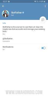 Membuat Bot Telegram Sendiri