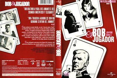 Carátula dvd: Bob el jugador
