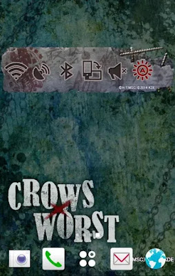 CROWS×WORST トグルウィジェット Free Game For Android on Apcoid.com