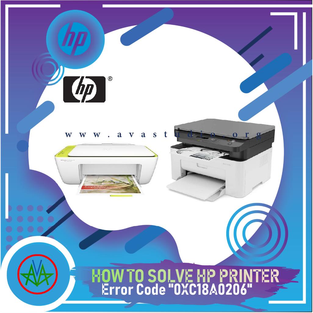 How to Fix Error 0XC18A0206 HP Printer