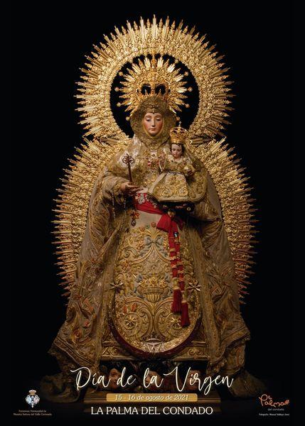Cartel del Día de la Virgen 2021 de La Palma del Condado