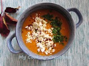 Крем супа от червена леща по гръцки * Vellutata di lenticchie rosse alla greca