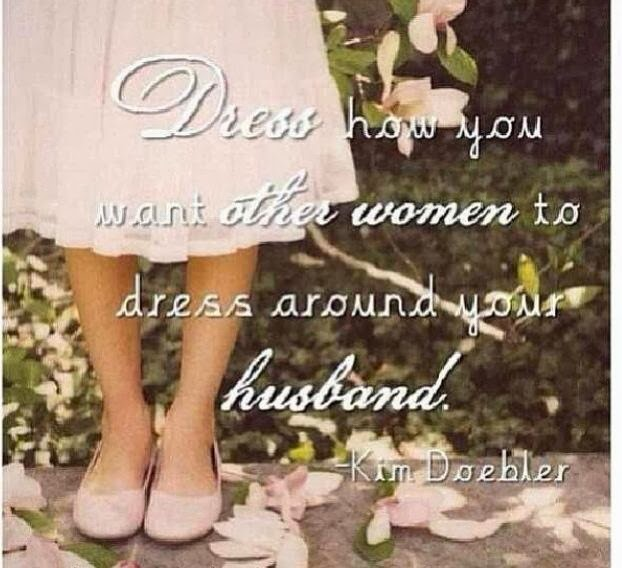 HOW WE SHOULD DRESS