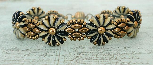 Linda's Crafty Inspirations: Daisy Chain Bracelet ...